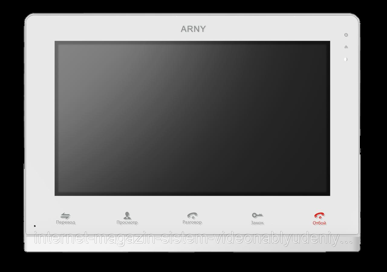 Видеодомофон Arny AVD-1025-AHD Белый