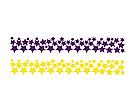 Набор самоклеющихся наклеек на стену Звезды, 100 штук (виниловые звездочки), фото 10