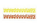 Набор самоклеющихся наклеек на стену Звезды, 100 штук (виниловые звездочки), фото 7