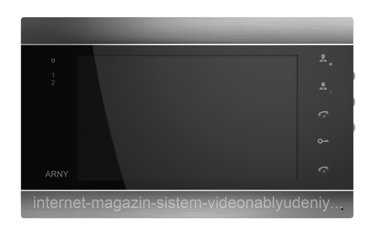 Видеодомофон Arny AVD-720M Wi-Fi Серебро