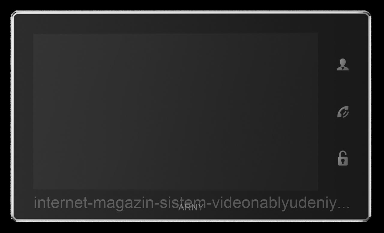 Видеодомофон Arny AVD-740 2MPX с датчиком движения 7'' Черный (arny-000122)