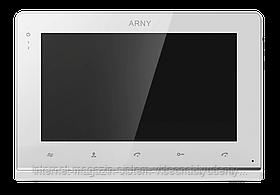 """Видеодомофон цветной AVD-710 2MPX IPS 7"""" Белый"""