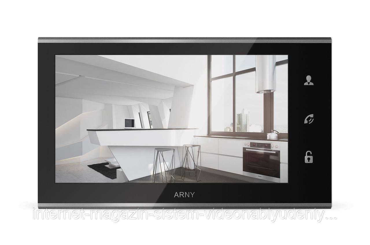 Видеодомофон Arny AVD-730 Черный