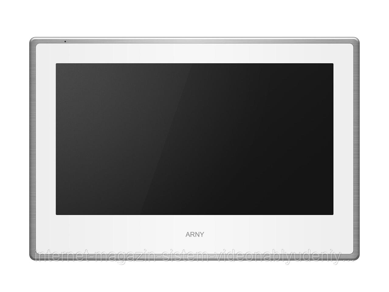 """Видеодомофон AVD-750 2MPX IPS 7"""" Белый / Серебро (arny-000092)"""
