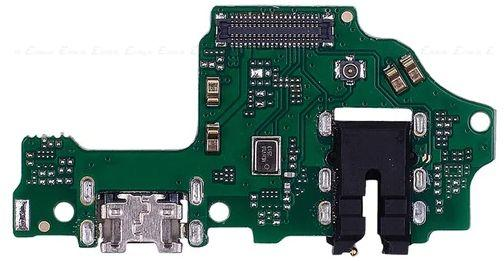 Шлейф Huawei Y9 2019 (JKM-L23 / JKM-LX3) з роз'ємом зарядки, навушників та мікрофоном