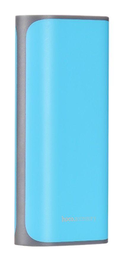 Повербанк Hoco B21 Tiny Cancave 5200mAh Blue