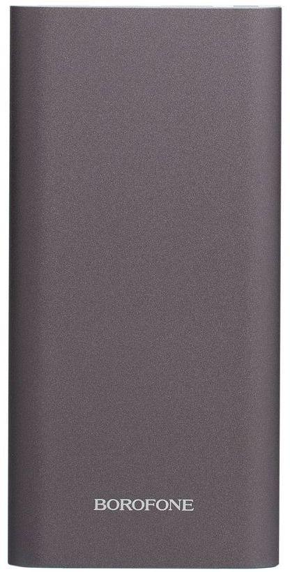 Зовнішній акумулятор Borofone BT19A 15000 mAh Grey