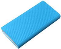 Силиконовый чехол для Xiaomi Mi Power bank 2C 20000mAh / 3 20000 (PLM18ZM) Blue