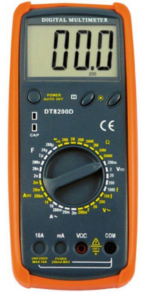 Мультиметр TCOM DT8200D