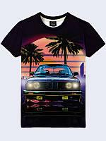 3D футболка BMW retro car (Размер: XL(52), Фасон: Мужской)