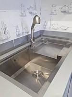 Кухонная стальная мойка Germece HANDMADE 8245 L HD-D013