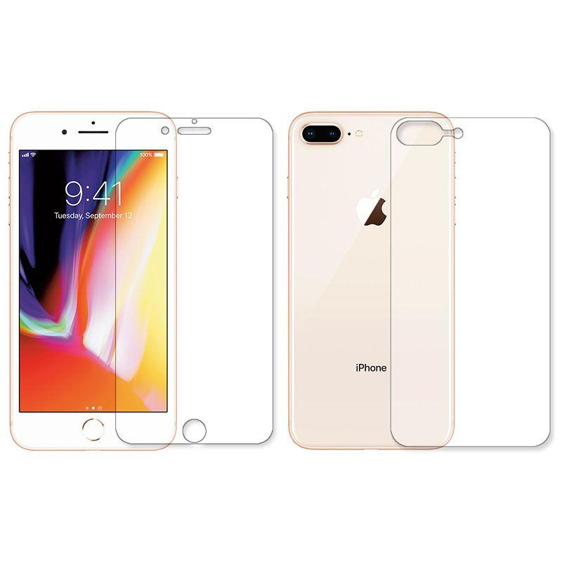 Защитная пленка BoxFace Противоударная Apple iPhone 7 Plus, iPhone 8 Plus Face and Back Clear