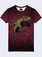 3D футболка Ящерица (Размер: L(50), Фасон: Мужской)