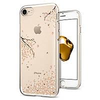 Чехол Spigen Liquid Crystal Apple iPhone 7, iPhone 8 Shine Blossom (042CS21220)