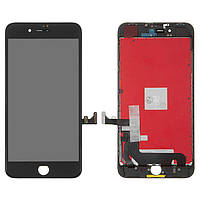 Дисплей (экран) для телефона Apple iPhone 8 Plus + Touchscreen (high copy) Black