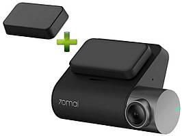 Видеорегистратор Xiaomi 70mai Smart Dash Cam Pro (Midrive D02) + GPS-модуль Black