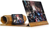 ✅ Увеличитель экрана телефона Enlarged Screen Magnifier (деревянный) | збільшувач екрану (Гарантия 12 мес)