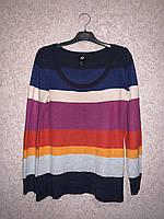 Кофта женская H&M Разноцветная б/у