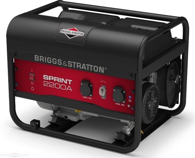 Генератор бензиновый Briggs & Stratton Sprint 2200А (2,125 кВа)