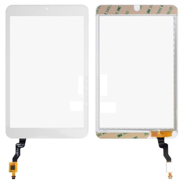 Сенсор (тачскрин) Alcatel One Touch 9005X Pixi 8 White