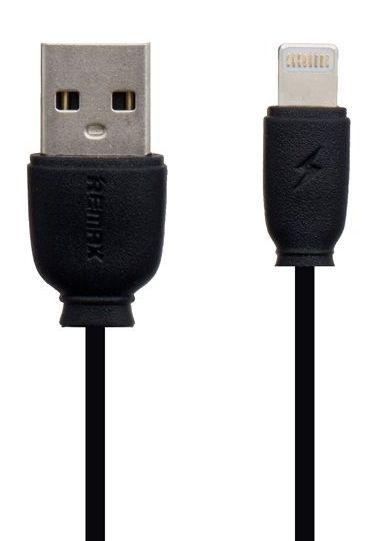 Кабель USB Remax Fast Charging Data Cable Lightning Black (RC-134i)