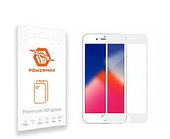 Защитное стекло Powermax 3D Premium Apple iPhone 7 Plus, iPhone 8 Plus White (PWRMX3DIPH7PW)