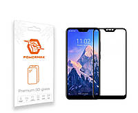 Захисне скло Powermax 3D Premium Xiaomi Redmi Note 6 Pro Black (PWRMX3DXRN6B)