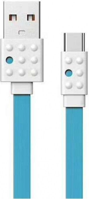 Кабель USB Remax Lego USB 2.0 Type-C Blue (PC-01a)