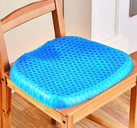 Гелевая подушка Egg Sitter с чехлом ортопедические подушки, массажер, массажное сиденье, подушки на стулья