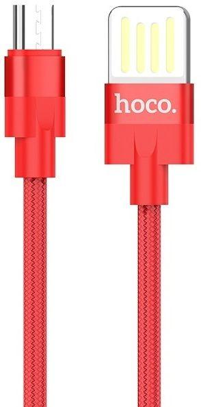 Кабель USB Hoco U55 Outstanding Cable For Micro Red