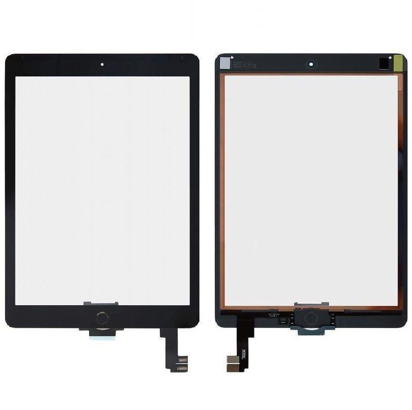 Сенсор (тачскрин) Apple iPad Air 2 (A1566, A1567, полный комплект с кнопкой Home) Black