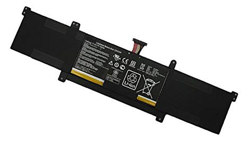 Акумулятор для ноутбука Оригінальна акумуляторна батарея для ноутбука Asus C21N1309 S301LP 7.4 V Black 4965mAh