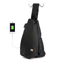 Рюкзак с одной лямкой Mark Ryden MiniTokio MR5975 Black (lyrB35370)
