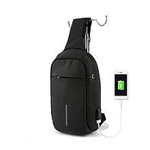 Рюкзак с одной лямкой Mark Ryden Mini Bobby MR5898 Black (Hikb52663)