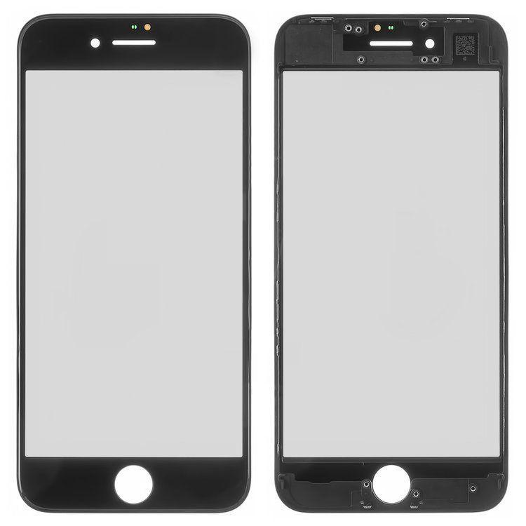 Корпусне скло дисплея Apple iPhone 8 with frame Black