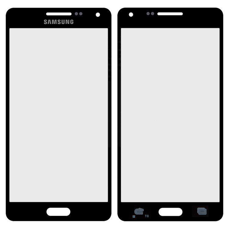 Корпусное стекло дисплея Samsung Galaxy A5 A500F, A500FU, A500H, A500M 2015 Black