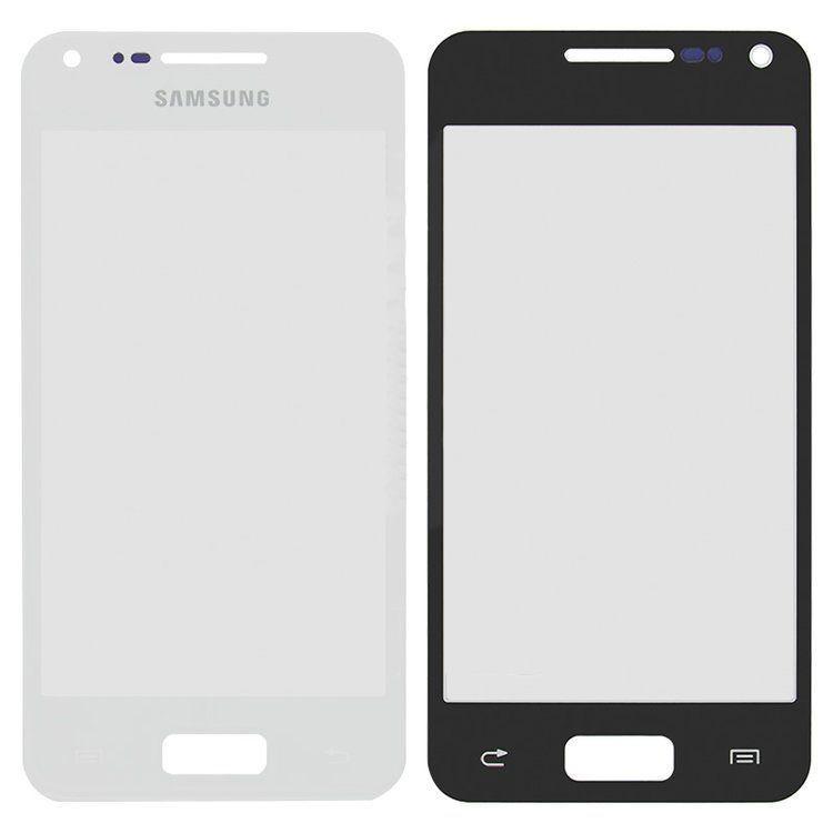 Корпусное стекло дисплея Samsung Galaxy S Advance I9070 White