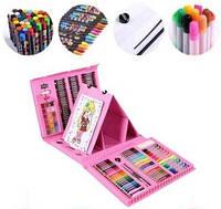Набор канцелярских товаров для рисования с мольбертом Art Set, 208 предметов