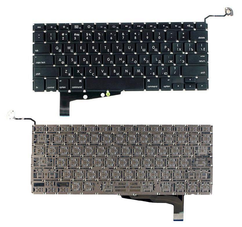 Клавиатура для ноутбука Apple MacBook Pro A1286 2011 2012 года с подсветкой Light без рамки без SD