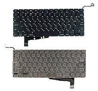 Клавиатура для ноутбука Apple MacBook Pro A1286 2011 2012 года с подсветкой Light без рамки без SD, фото 1
