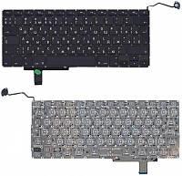 Клавіатура для ноутбука Apple MacBook Pro A1297) з підсвічуванням (Light) Black, (No Frame), RU (вертикальний, фото 1