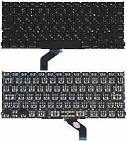 Клавиатура для ноутбука Apple MacBook Pro A1425 с подсветкой Light без рамки горизонтальный энтер черная, фото 1