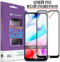 Защитное стекло MakeFuture Full Cover Full Glue Xiaomi Redmi 8 Black (MGF-XR8)