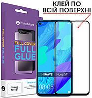 Защитное стекло MakeFuture Full Cover Full Glue Huawei Nova 5T Black (MGF-HUN5T)