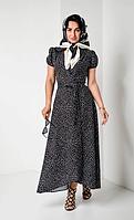 Льняное платье для лета размеры от 42 до 52