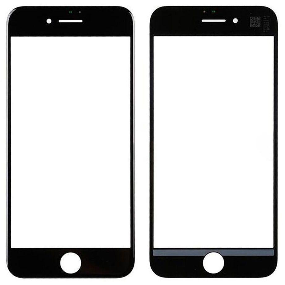 Корпусное стекло дисплея Apple iPhone 7 Black