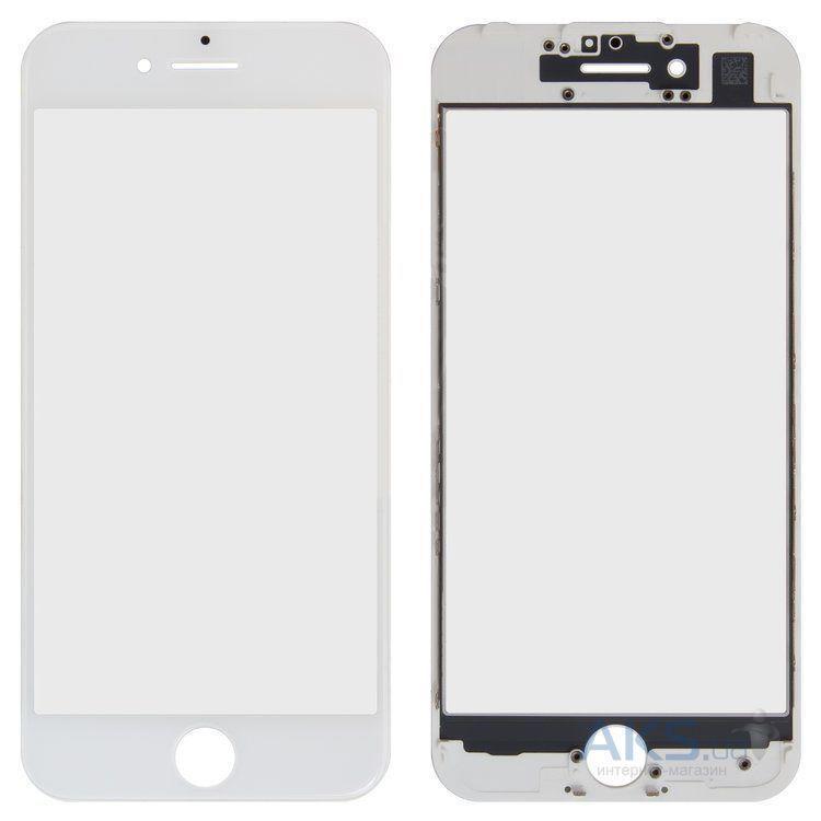 Корпусне скло дисплея Apple iPhone 7 with frame White
