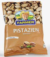 Фисташки несоленые   Farmer Pistazien 250г