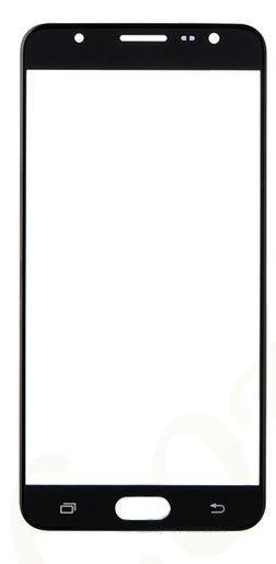 Корпусное стекло дисплея Samsung Galaxy J5 Prime G570F 2016 (с OCA пленкой) Black