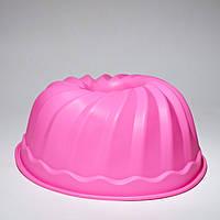 Силиконовая форма  для кекса 22 см